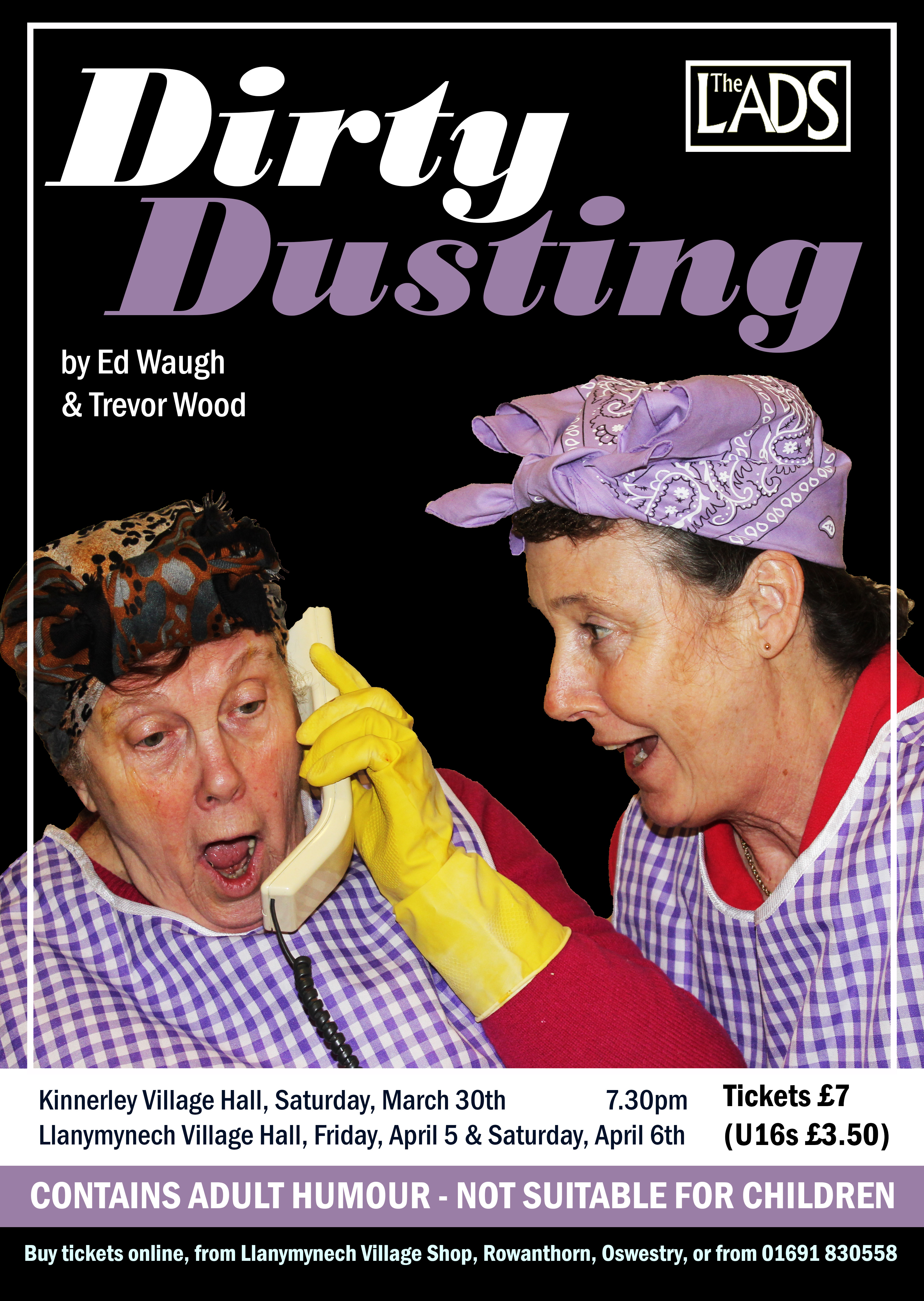 Dirty Dusting - March/April 2019