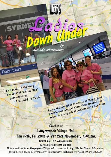 Ladies Down Under - November 2015