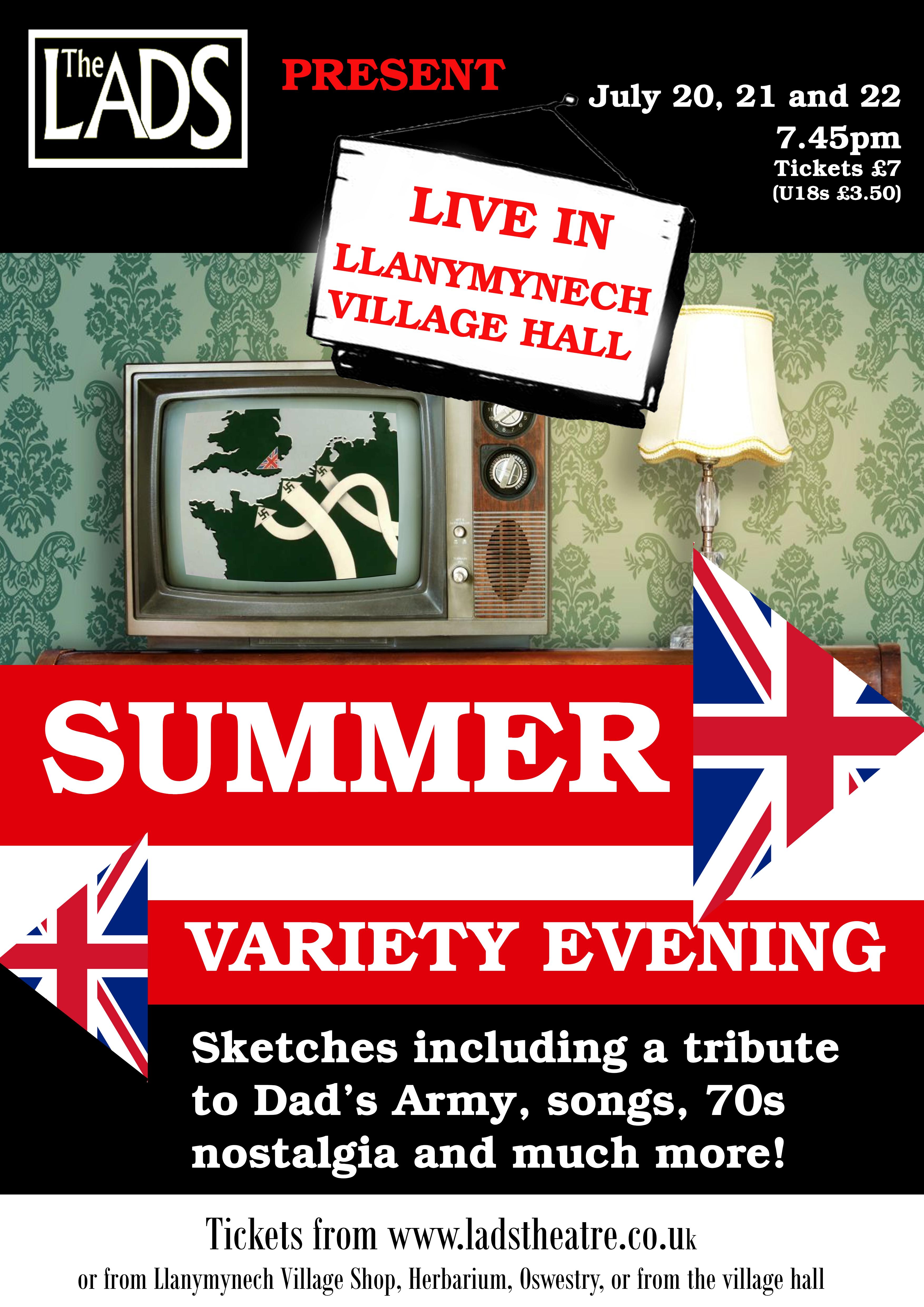 Summer Variety - July 2017