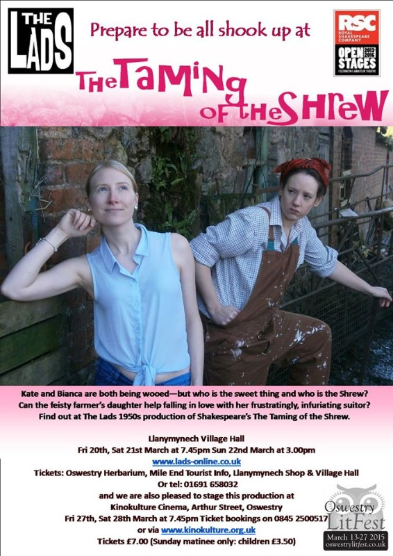 The Taming of the Shrew - March 2015